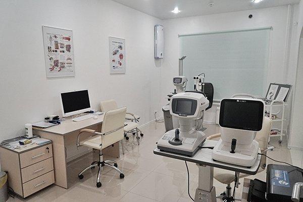 Кабинет Врача-офтальмолога в клинике Цирус